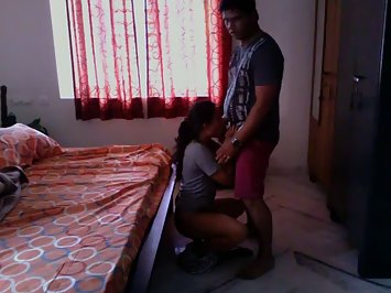 Sexy indian sali getting fucked in wife absence