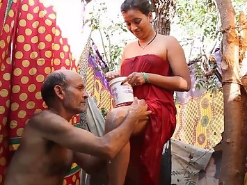 Mature Indian Men Young Indian Wife Shower
